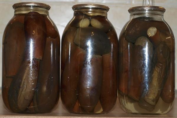 Баклажани на зиму цілком 8 кращих рецептів приготування смачної консервації