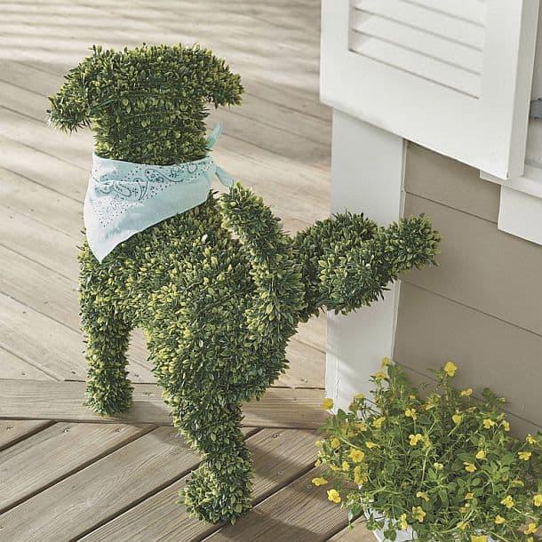 Декоративна садові собачка купити і ціна