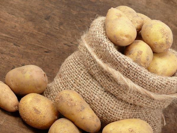 При якій мінусовій температурі замерзає картопля