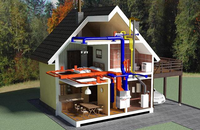 Розрахунок тепла на опалення за обсягом і площі приміщення для обігріву, як розрахувати витрати тепла на