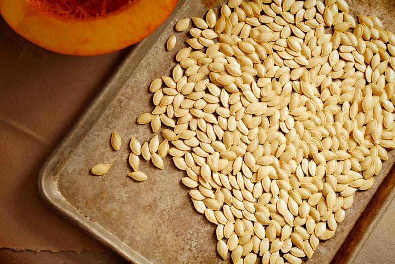 Як сушити гарбузове насіння користь і шкода, калорійність сушених гарбузового насіння