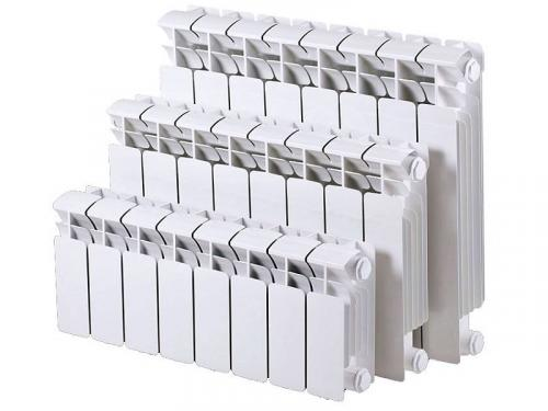 Сніп розрахунок кількості секцій радіаторів опалення за обсягом приміщення